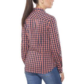 Schöffel Riga2 - T-shirt manches longues Femme - rouge/noir